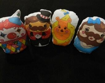 Circus Beanie Toys Bean Bag Toys Stuffed Toys
