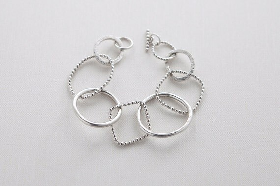 Sterling Silver Chunky Chain-link Bracelet