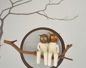 Two Owl Mooks, on Branch RESERVED