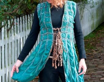 Gypsy Vest nuno felting KIT
