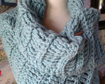 Crochet Pattern Simple Ribbed Stole