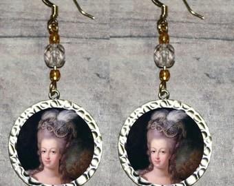 Queen MARIE ANTOINETTE  Earrings