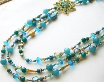 SALE- Caribbean Queen Necklace