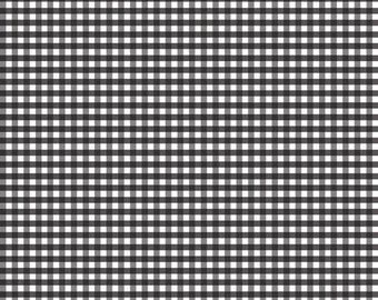 Small Black Gingham C440-110 from Riley Blake Fabrics 1/2 yard