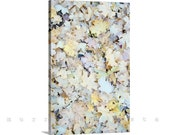 Large Canvas Art, Maple Leaf Art, Pastel Leaf Art, Autumn Photography, Gallery Wrap, Photography on Canvas, Fall Leaves, Ready to Hang