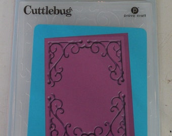 Provo Craft CuttleBug Embossing Folder Rebecca