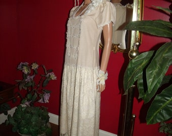 5-pc Set  Handmade Accessory Wedding  Dress  20s  Theme Size 7/8