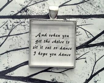 Lee Ann Womack  I Hope You Dance Song Lyric Pendant