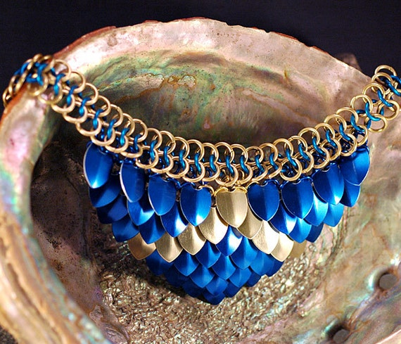 tired of making the same old jewelry revitalize with chain mail