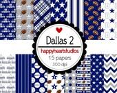 Digital Scrapbooking Dallas2- INSTANT DOWNLOAD