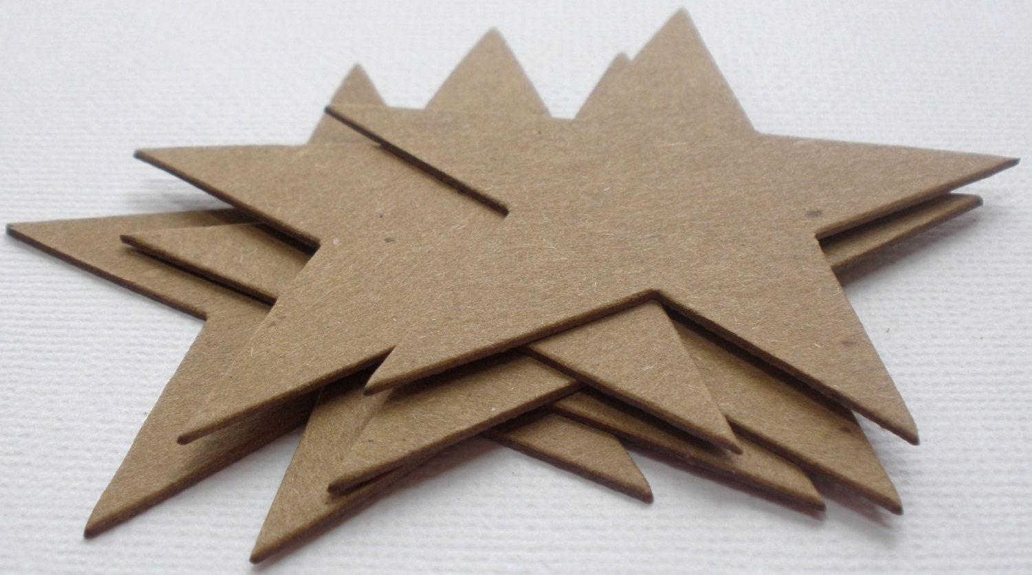 Chipboard Shapes Ideas ~ Point stars chipboard die cuts bare craft shapes