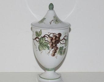 Ugo Zaccagnini Italian Art Pottery Urn , circa 1930s-1950s
