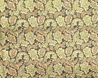 Hunter Green Fern Fabric - 1/2 Yard