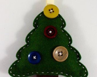 DIY Homepsun Christmas Tree Ornament KIT