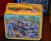 Vintage Metal Lunch box The Waltons