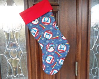 Thomas the Train  Christmas stocking