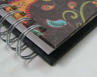 Church Notebook/ Sermon Journal/ Sermon Notebook/ Bible Notebook/ Bible Journal/ Sermon Notes/ Journal/ Christian Gift/ Turquoise Paisley