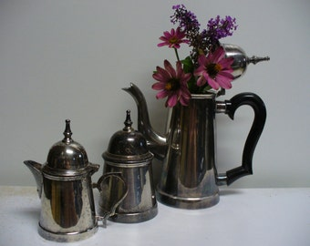 Traditional Little Silver Coffee or Tea Set