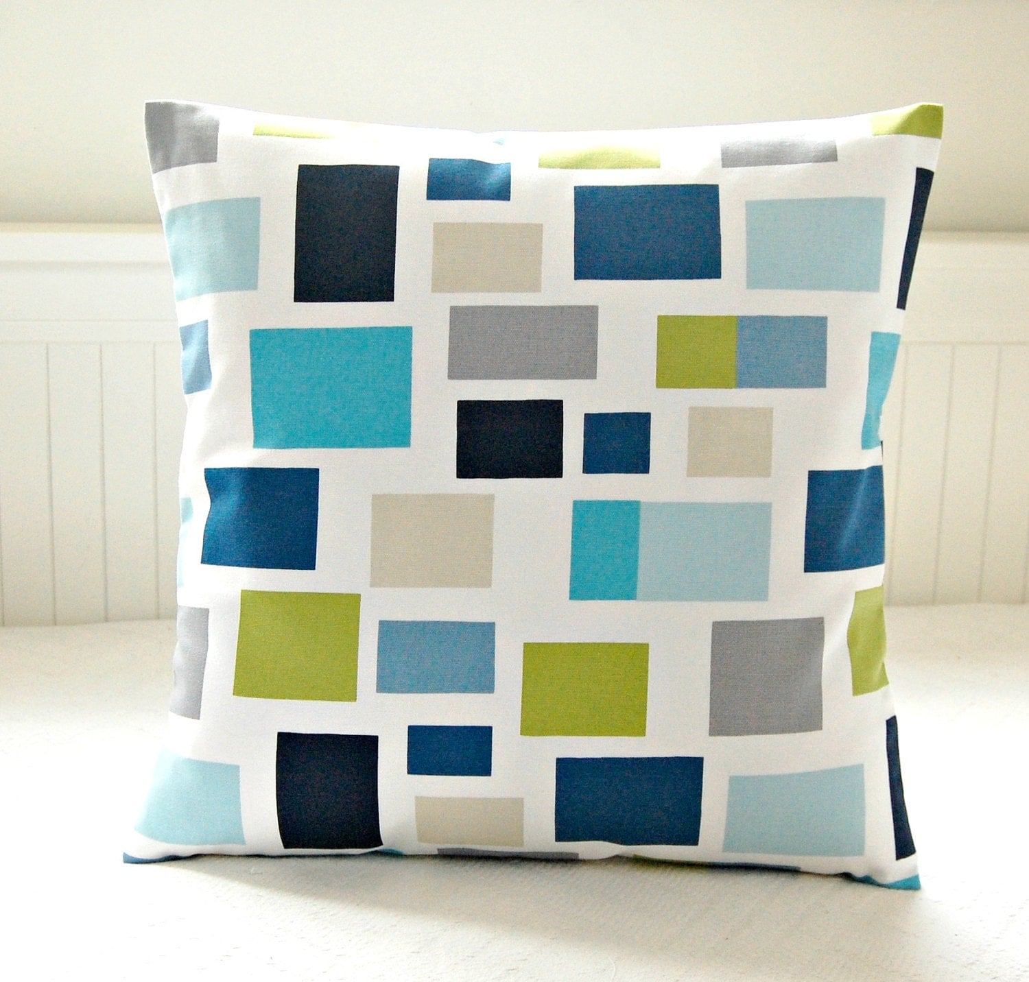 cushion cover teal blue lime green turquoise grey navy. Black Bedroom Furniture Sets. Home Design Ideas