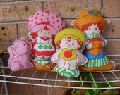 Sew Sunshine --Strawberry cupcakes- Pillow dolls-comes in a set (only 1)