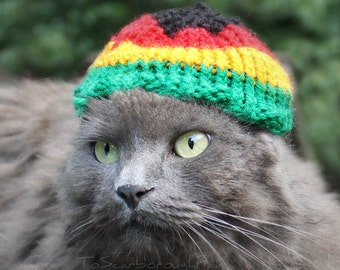 Rasta Cat Hat