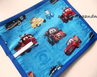 Disney's Cars TRAVEL chalkboard mat placemats (a)