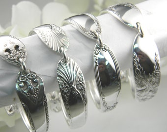 Bridesmaids Bracelets, FREE ENGRAVING, Bridesmaids Gifts, Choose Quantity, Spoon Bracelet, Victorian Wedding, Vintage Wedding, Something Old