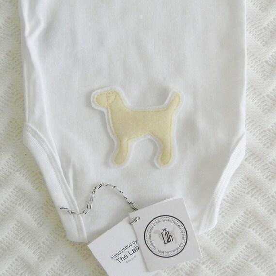 Yellow Lab Bodysuit - FREE Lab Collar Customization