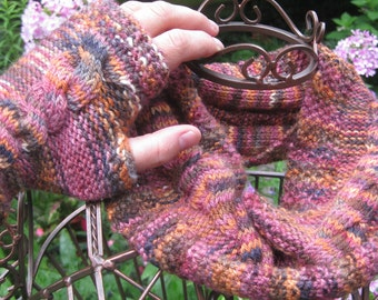 Fall Harvest Cowl and Mitts