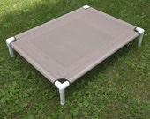 Large Dog Bed, Outdoor Dog Bed, MESH Pet Bed, PVC Cot, Stain Resistant Medium Raised Bed, 8 Colors 36x48 Dogs Up To 130 Pounds
