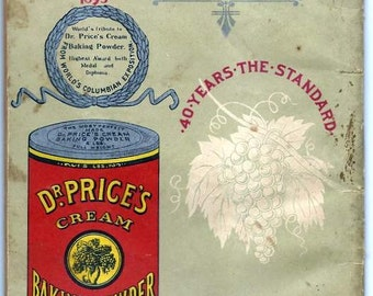 "FOUR Vintage cookbooks. Late 1800's, early 1900's.~ Recipes were call ""receipts"" back then.~ FREE SHIPPING."