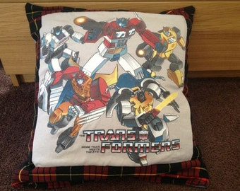 Custom 'made to order' T-Shirt Memory Pillow