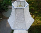 Lampshade Embroidery Bell Lamp Shade / 5 x 10 x 7