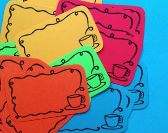 Cuppa Stack Pack (20 mini doodle cards)