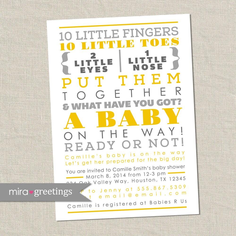 Baby Shower Invitation Poems Boy with good invitations ideas