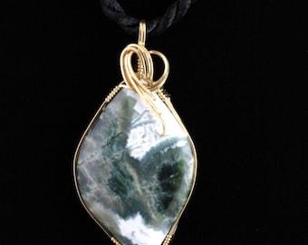 Ocean Jasper Pendant.Listing 169848932