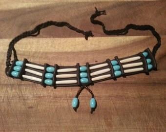 Native american bone beaded chokers PRE ORDER ONLY