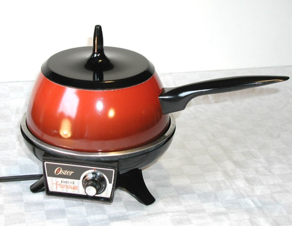 Items Similar To Oster Electric Fondue Pot Flame Red