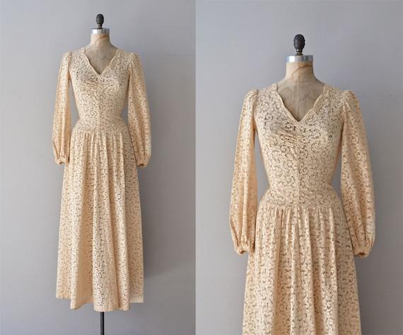 1930s Wedding Gowns: Quattrocento Wedding Dress Vintage 1930s Wedding Gown