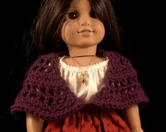 Purple Doll Shawl- ON SALE