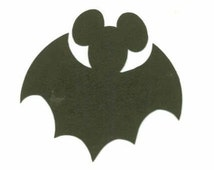 Mickey Mouse Halloween BATS Scrapbooking Die Cuts - Pick Color | MNSHP | Disney