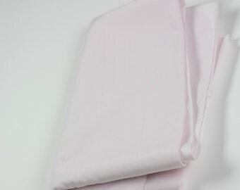 Cotton Polyester Mix Poplin -Pale Rose Pink