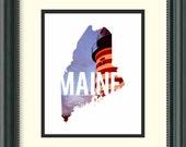 Maine - Lighthouse - Digital Download