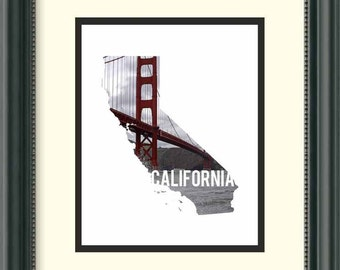 California - Golden Gate Bridge - Digital Download