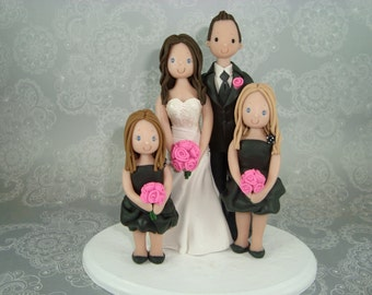 Personalized Family Cake Topper