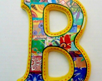 Nursery Wall letter, Decorative letter, Letter B