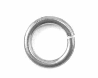 "Jump Rings, Anodized Aluminum, 18 Gauge, 3/16"" Diameter, 50 pack  (21-48-010)"