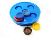 Bezel Mold. Make your own bezels.  Silicone Rubber resin Mold, Flexible Mold. Handmade in the USA