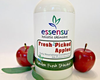 Fresh Picked Apples Daily Fortifying Multi-Protein Hair Conditioner | Builds Body , Bounce and Shine | Luxury Formula | No Parabens - 16 oz