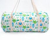 Duffle Bag , Weekender Bag , Luggage , Kids Bag , Robot Bag
